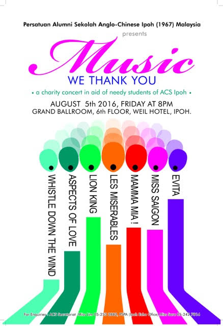 Musical Concert 2016 Poster